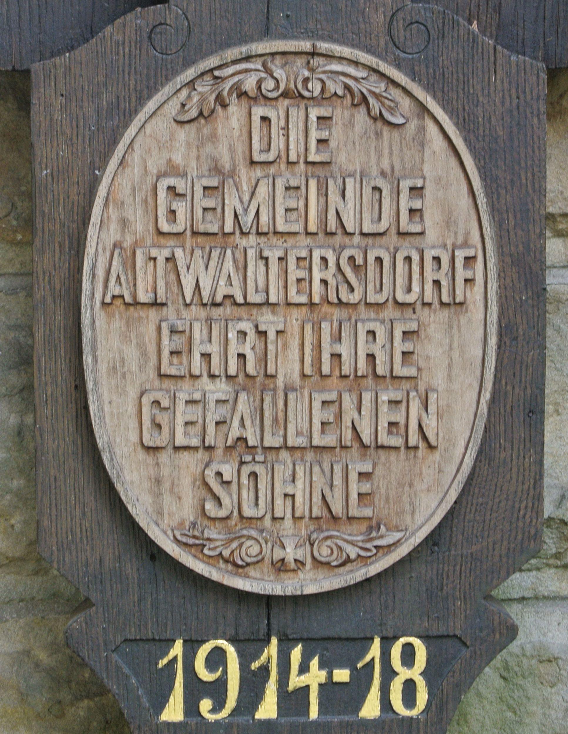 1. Bilder aus Altwaltersdorf